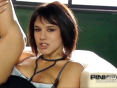 PINKO HD Beautiful Italian babe enjoys cock