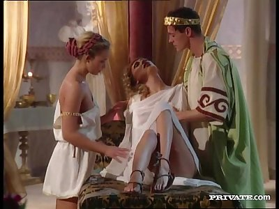Slaves Assfucked by the Emperor