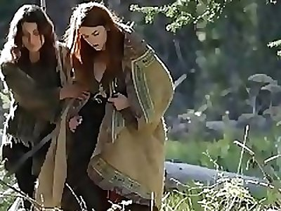 Medical in the woods with X intensity - BAREMAIDENS