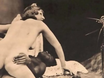 Vintage Interracial Stop Motion
